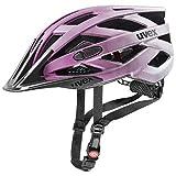 Uvex Unisex– Erwachsene i-vo cc Fahrradhelm, Berry Matt, 52-57 cm