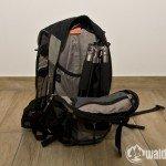 Passt sehr gut in einen 12-Liter-Rucksack! Rollei Compact Traveler No 1