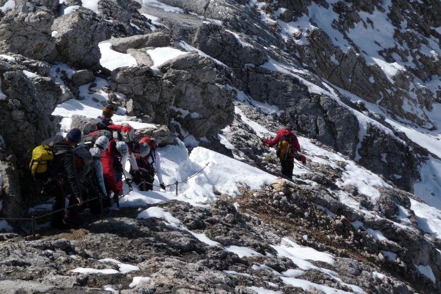 Klettersteig Touren – Klettersteige für Einsteiger VI
