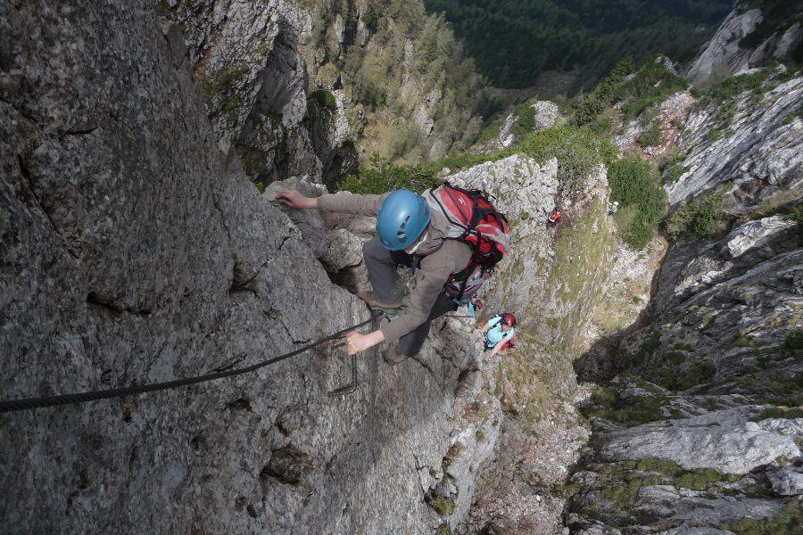 Klettersteig Schwierigkeitsskala – Klettersteige für Einsteiger V