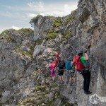 Klettersteig Kanzelwand – Mit der Bergschule Kleinwalsertal auf den Walsersteig (mit Video)