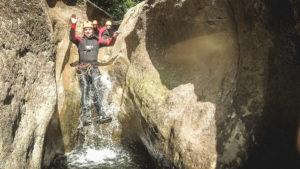 Canyoning Starzlachklamm - Super Erlebnis mit den Canyonauten (mit Video)