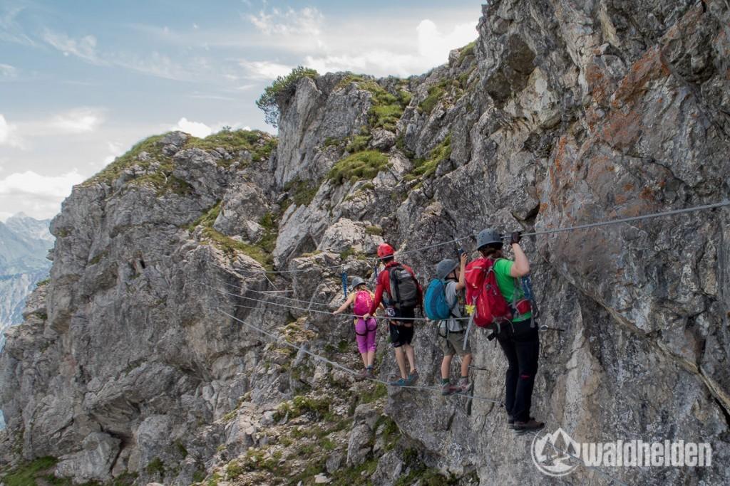Klettersteigkurs Kanzelwand Kleinwalsertal