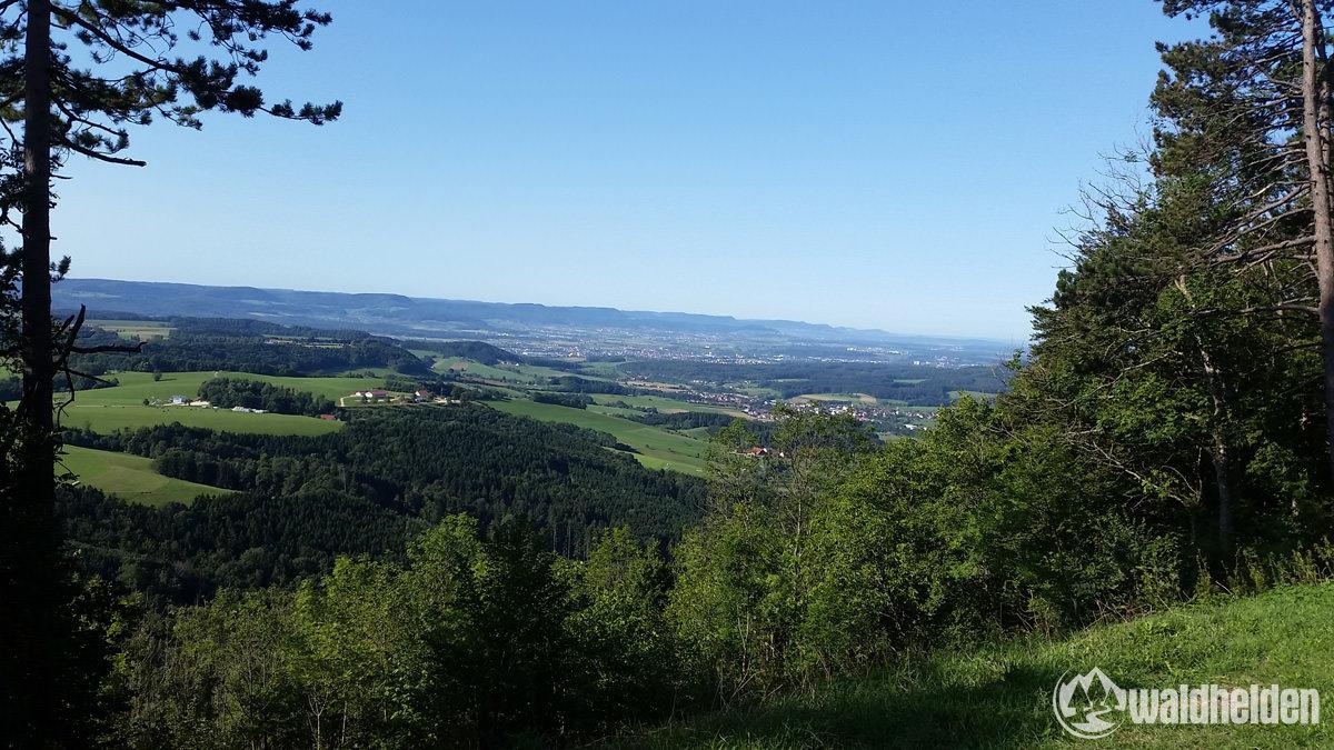 Blick ins Filstal vom Rechberg