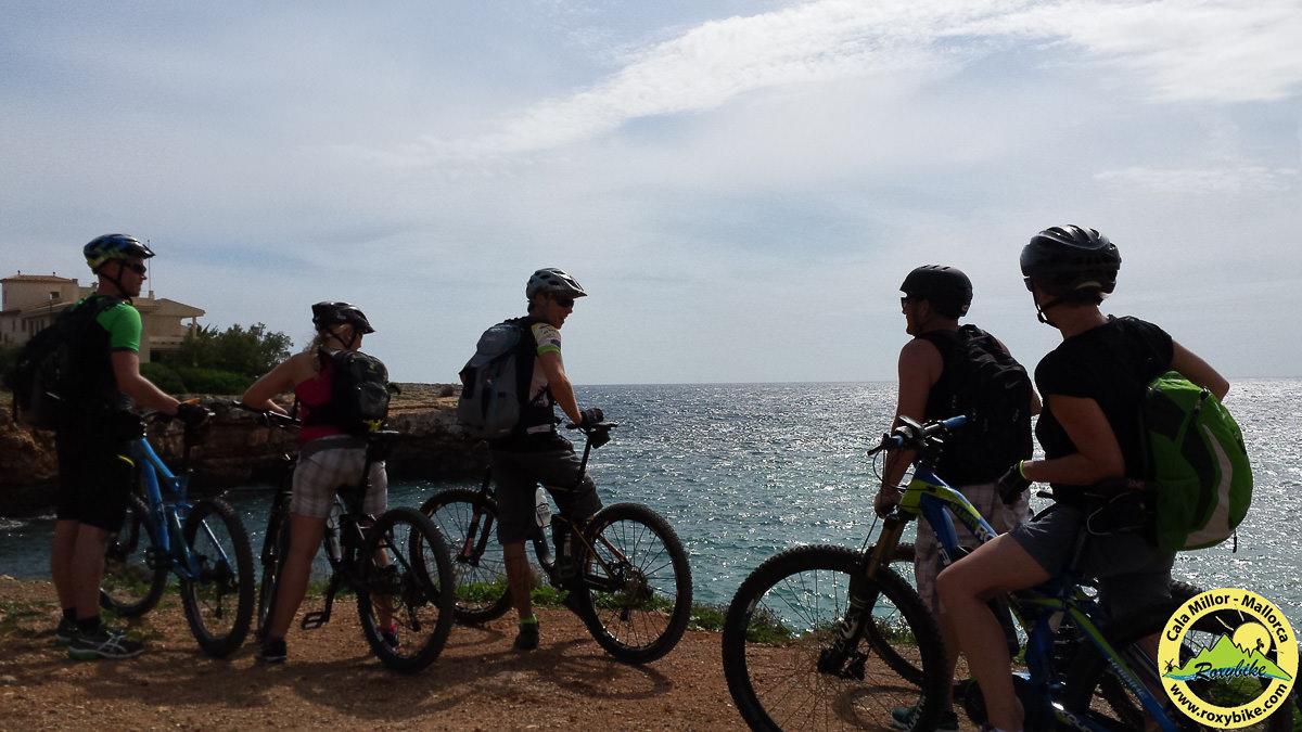 Bucht bei Cala Morlanda