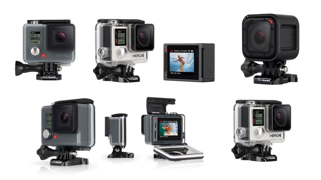 GoPro Kaufberatung Übersicht
