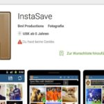 Bilder von Instagram speichern