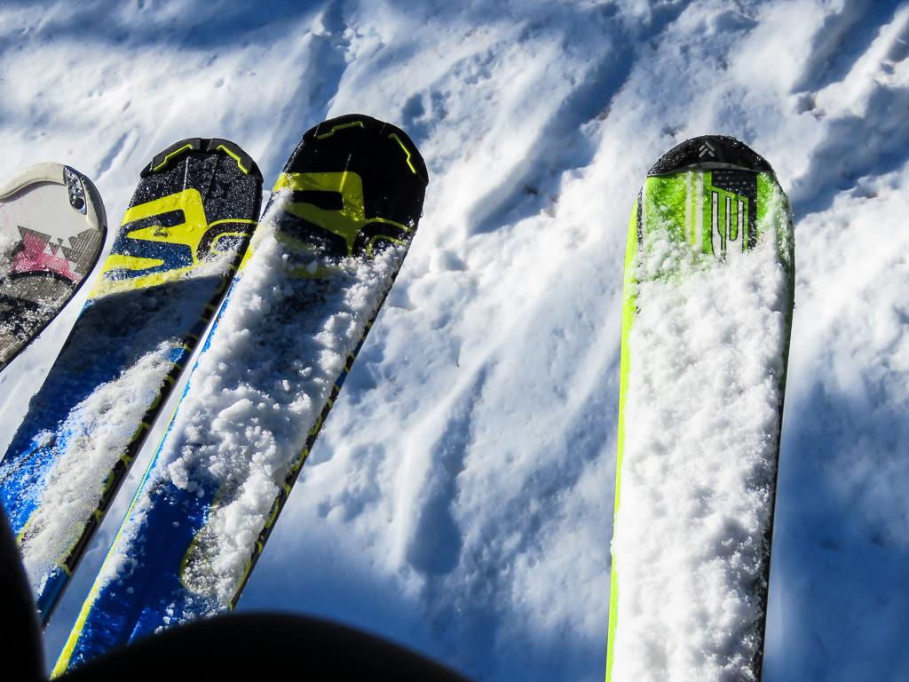 Skigebiet Kronplatz - Liftfahrt
