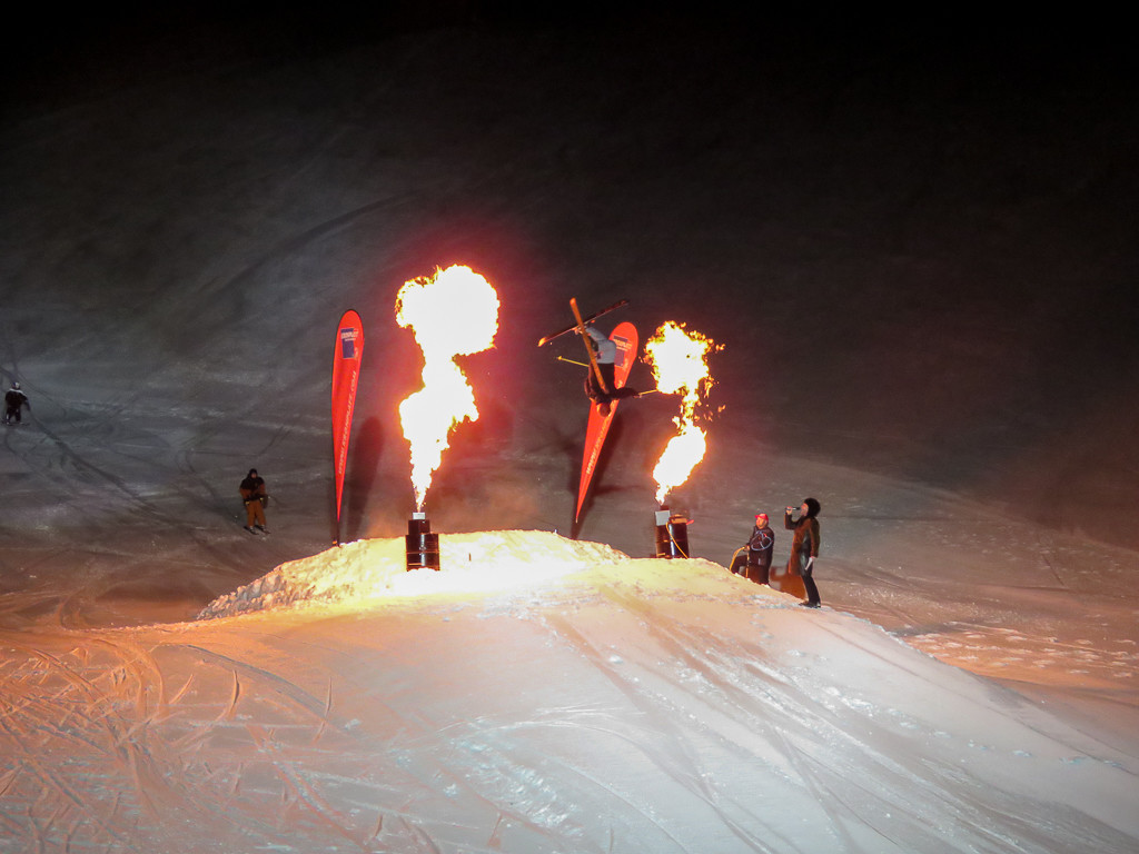 Skishow Fire and Ice in Olang