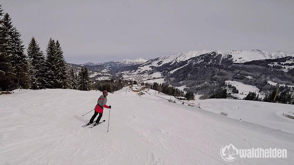 Skifahren Heubergarena