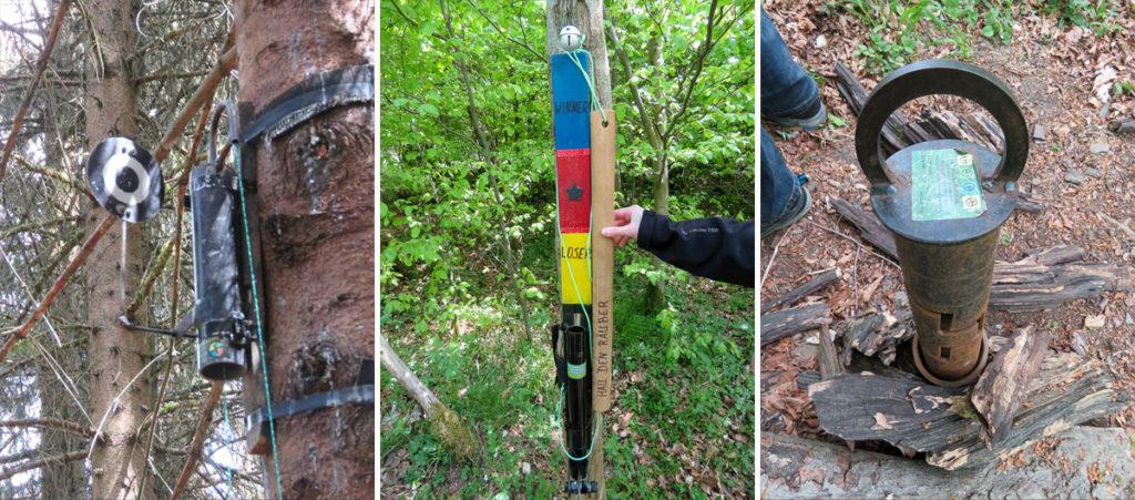 Richtig kreative Geocaches bietet die Räuberland-Runde im Harz
