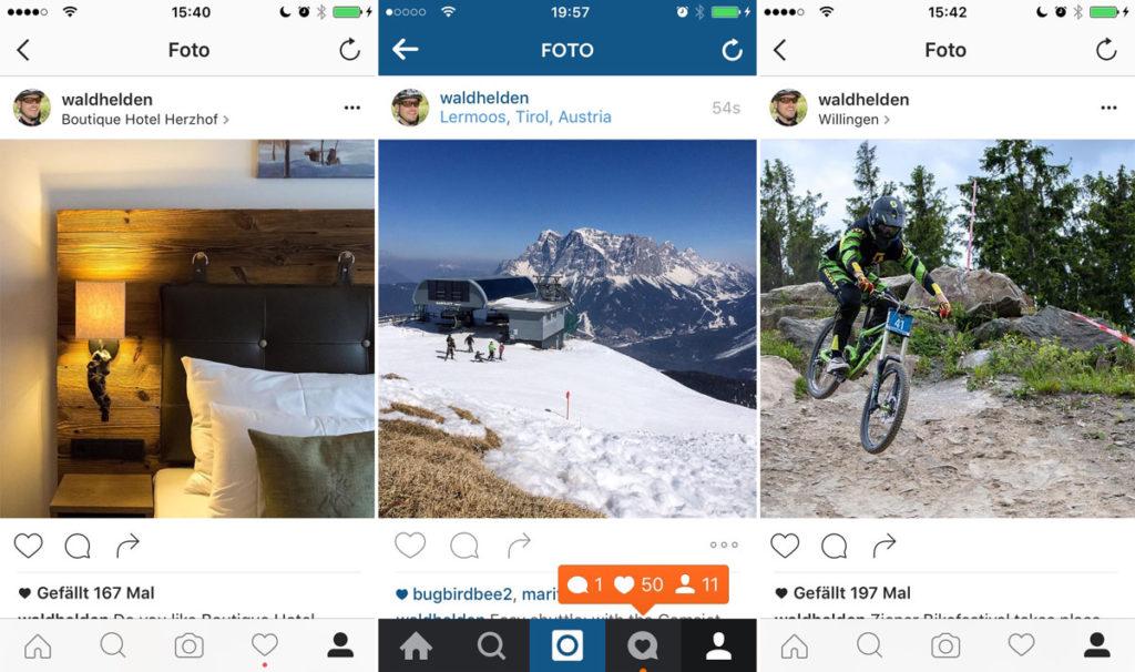 Instagram für Hotels