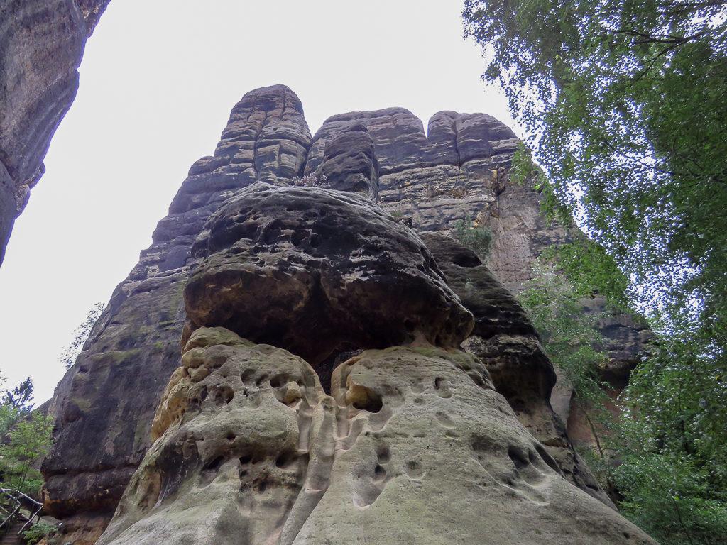 Schrammsteintor Sächsische Schweiz