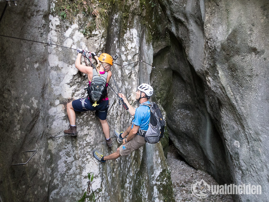 Rio Sallagoni Klettersteig Skyclimber