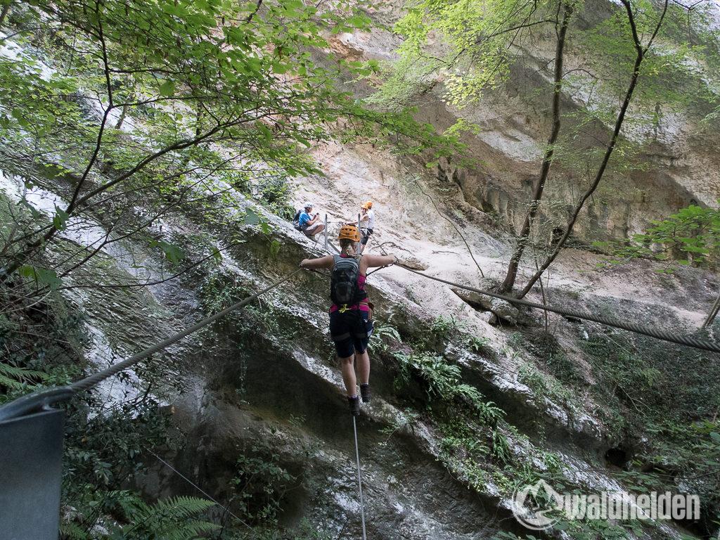 Rio Sallagoni Klettersteig