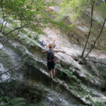 Rio Sallagoni Klettersteig mit Skyclimber