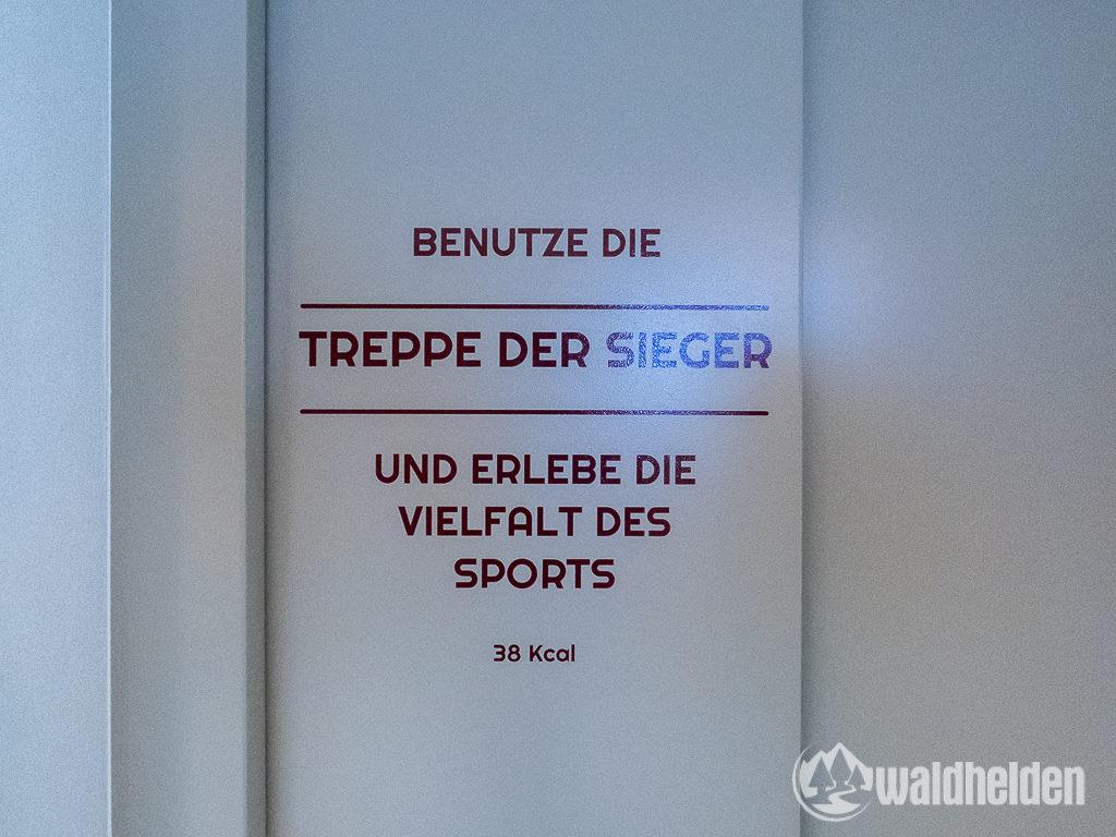 Salzburger Hof Leogang Treppe der Sieger