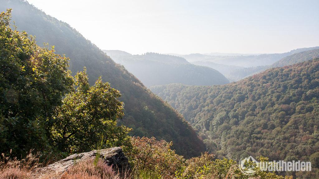 Westerwaldsteig Aussicht aufs Wiedtal