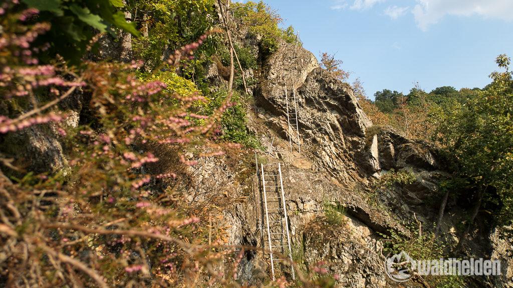 Klettersteig Hölderstein Westerwaldsteig