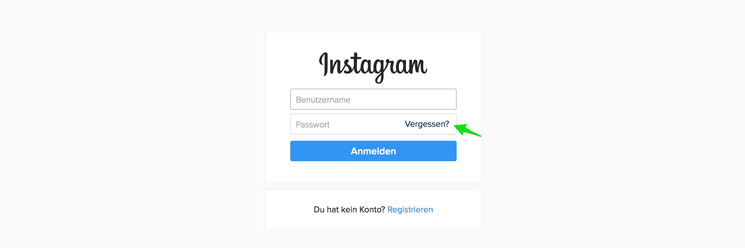 Instagram Passwort vergessen – Was tun?