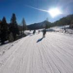 Skifahren in Südtirol: Unterwegs auf der Sella Ronda