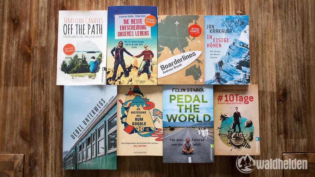 Die besten 8 Reisebücher