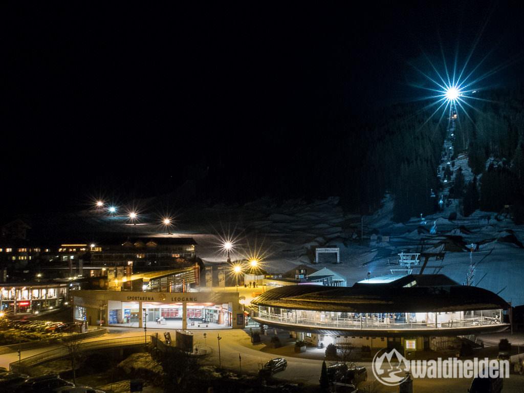 Nachtskifahren am Asitz