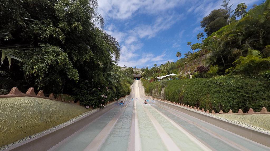 Siam Park Naga Racer Wasserrutsche