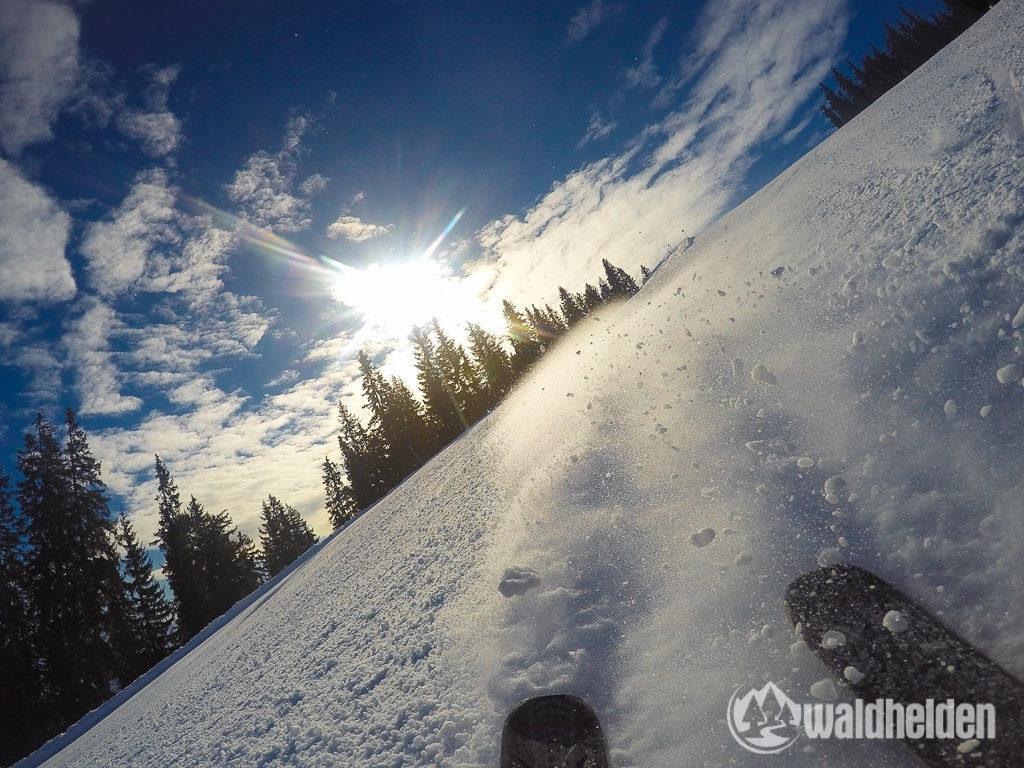 GoPro Skifahren in Leogang