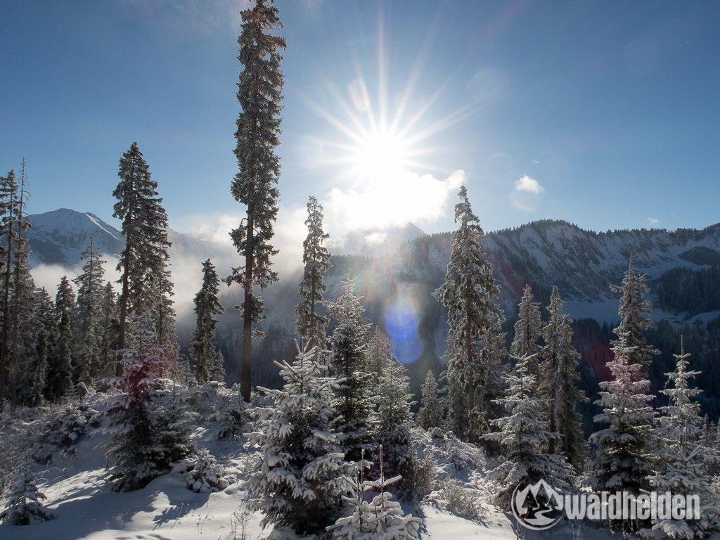 Ski-Gleitweg Küren Kleinwalsertal