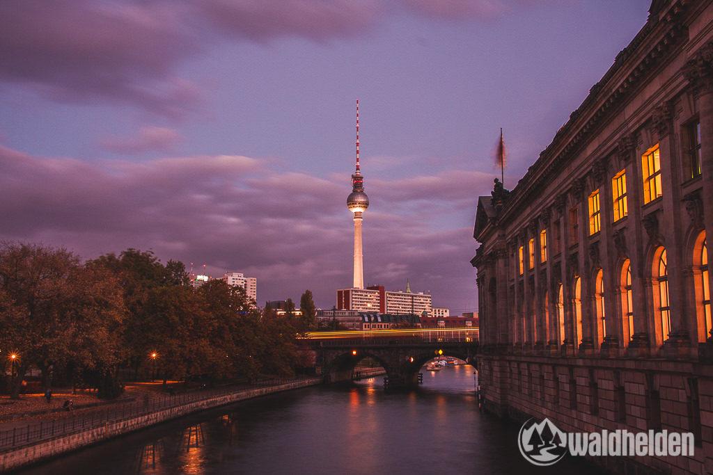 Stadtbild Berlin Langzeitbelichtung