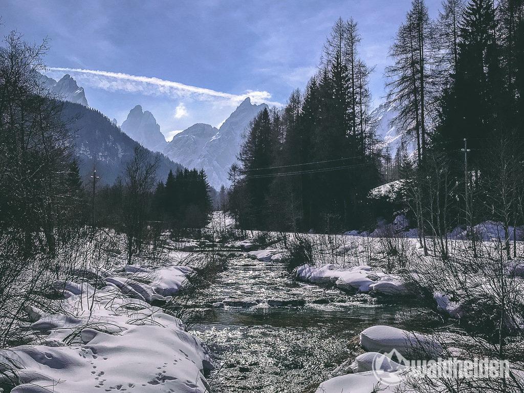 Wandern Bad Moos Sexten