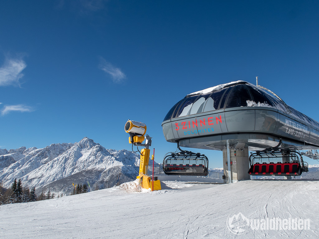 Bad Moos Dolomiten Neuer Sessellift Mittelstation