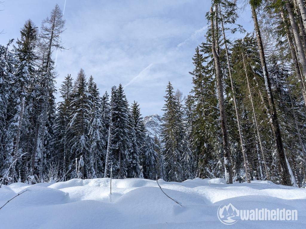 Bad Moos Dolomiten Winterwandern