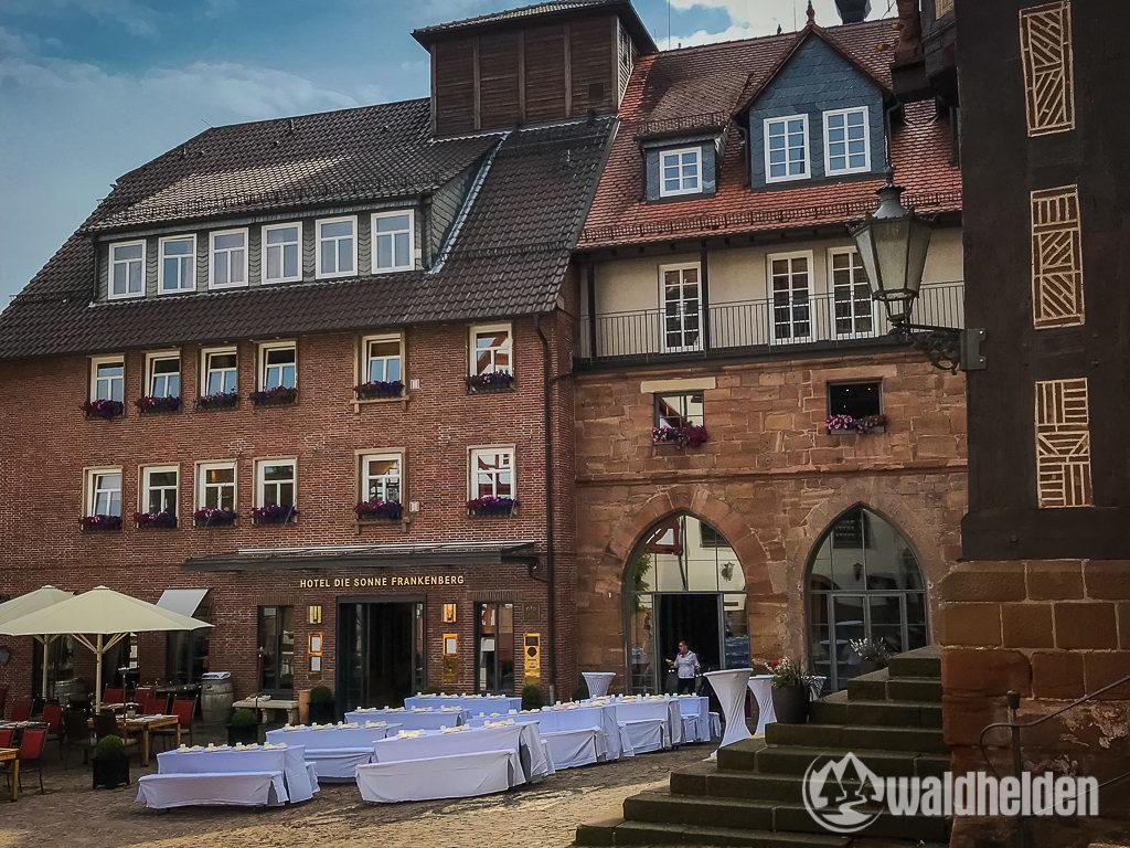 GeoRadroute Waldeck Frankenberg Hotel Sonne