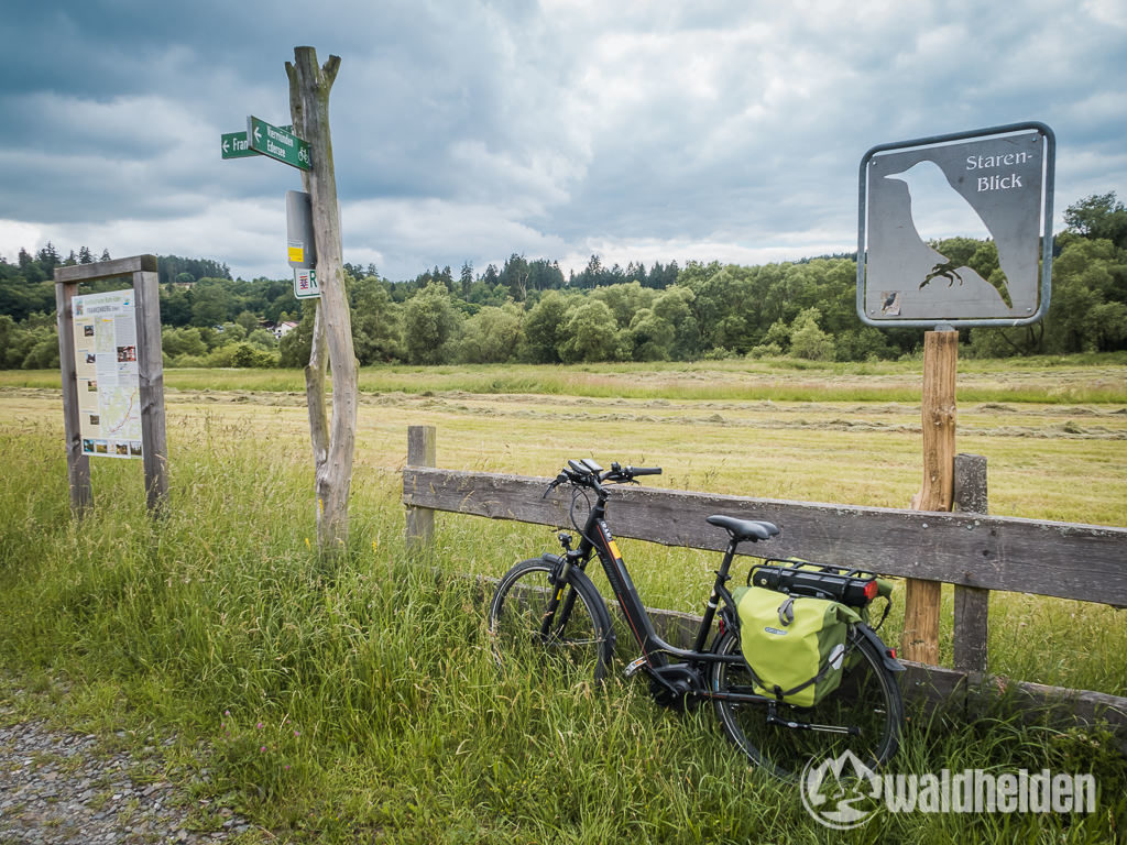 GeoRadroute Waldeck Frankenberg Starenblick