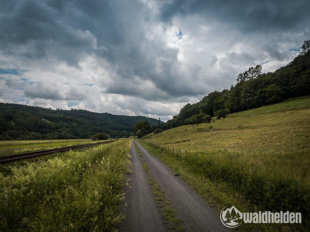 GeoRadroute Waldeck Frankenberg Bahnradweg
