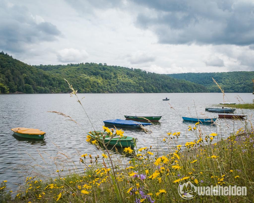 GeoRadroute Waldeck Frankenberg Boote Edersee