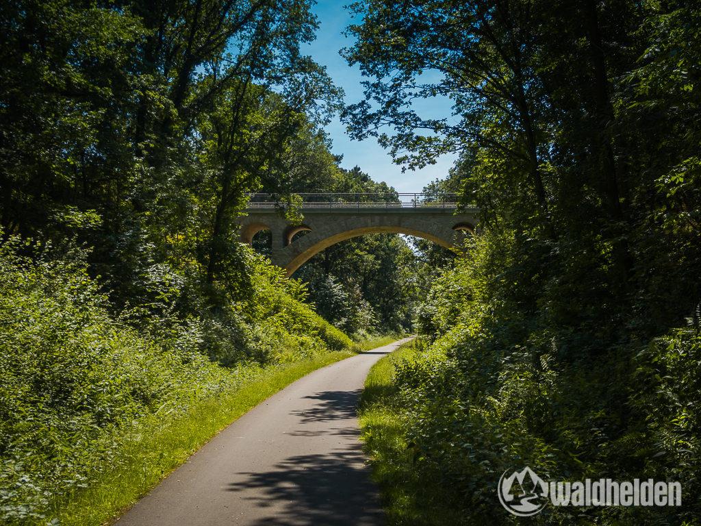 GeoRadroute Willingen Waldeck Ederseebahn Radweg