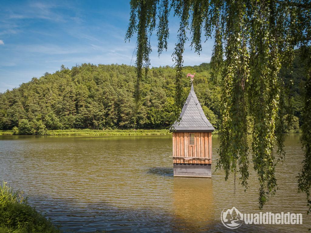 GeoRadroute Willingen Waldeck Kirchturm Nieder-Werbe