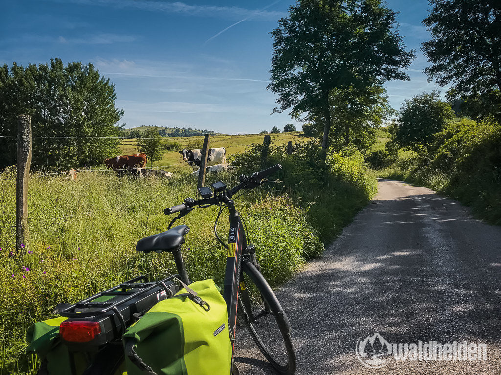 GeoRadroute Willingen Waldeck Radweg