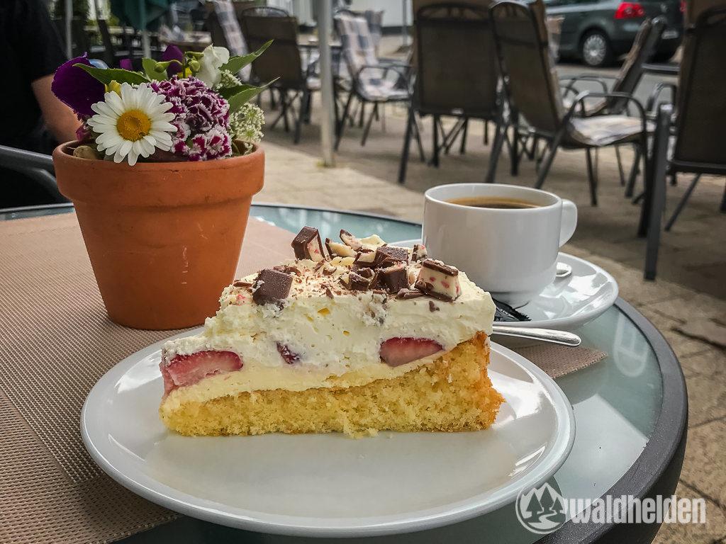 GeoRadroute Frankenberg-Winterberg Cafe Innenstadt