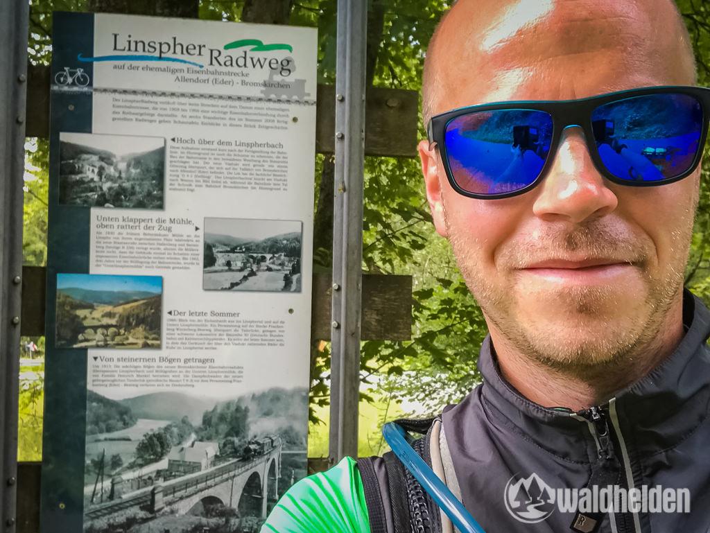 GeoRadroute Frankenberg-Winterberg Linspher Radweg