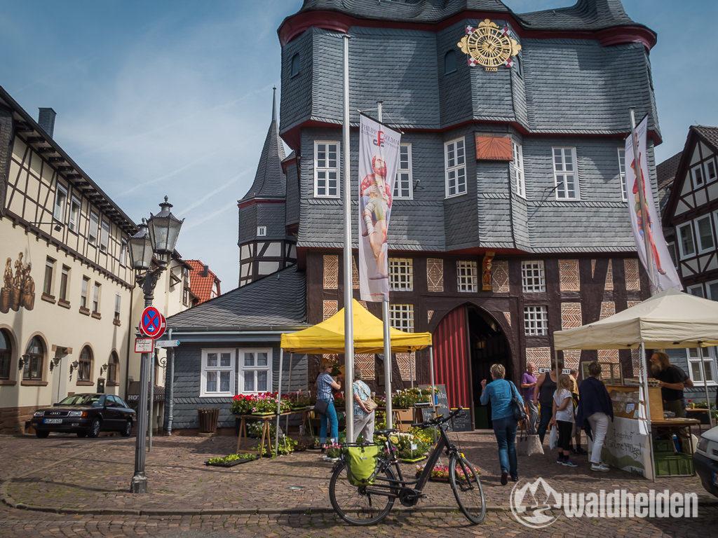 GeoRadroute Frankenberg Winterberg Markt
