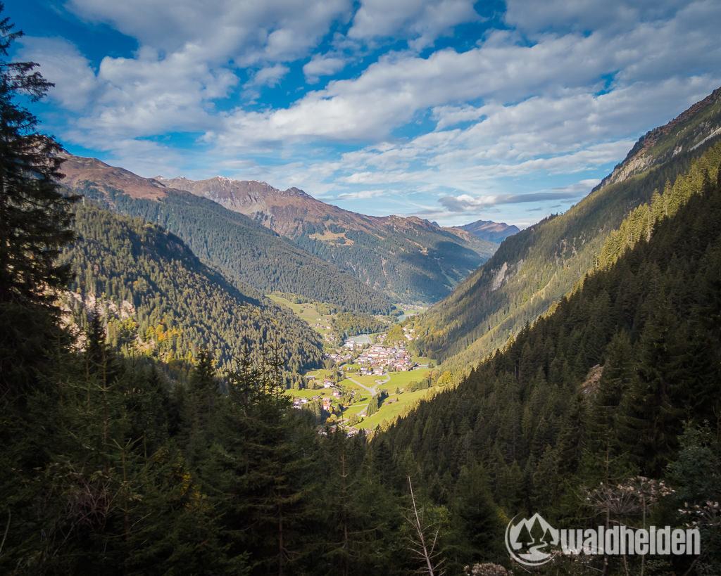 Montafon Mountainbiken Panorama Gaschurn
