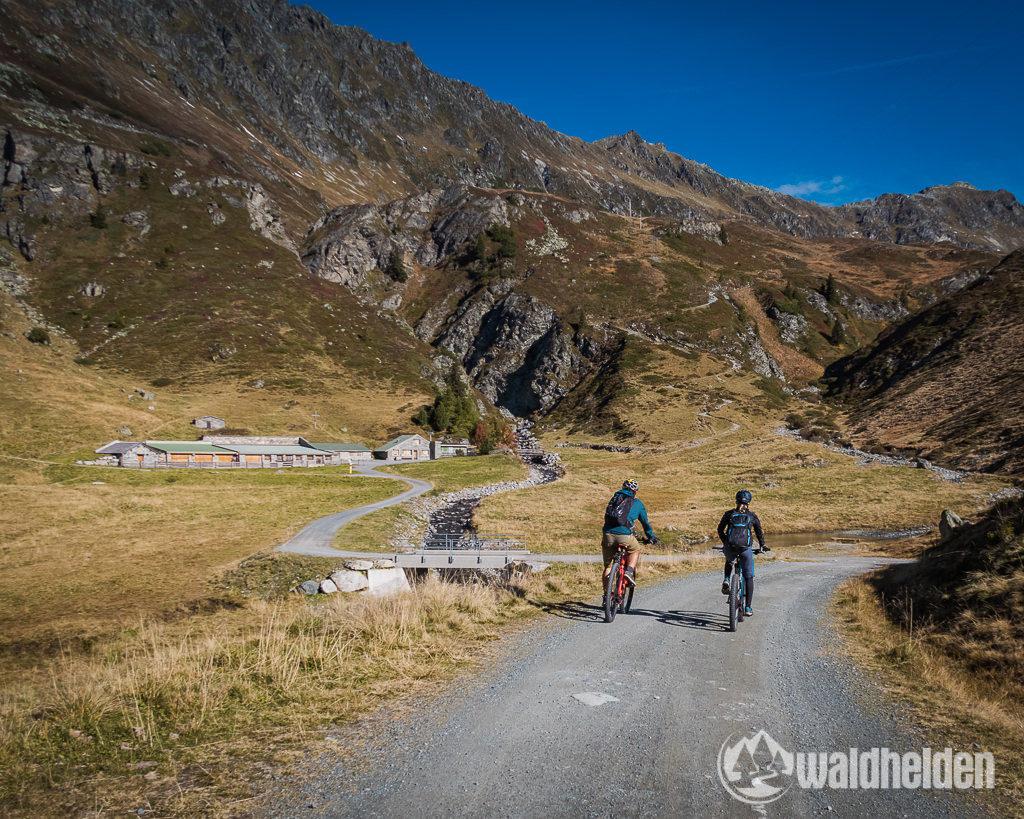 Montafon Mountainbiken Verbellaalpe
