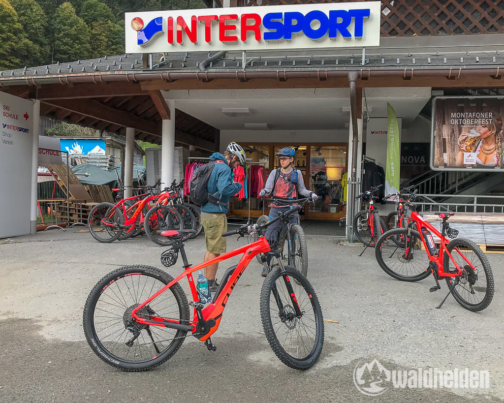 Montafon Mountainbike Verleih Gaschurn