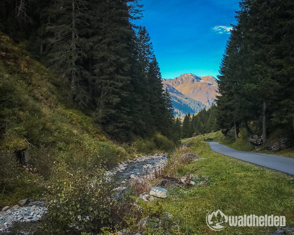 Montafon Mountainbiken Zeinisbach