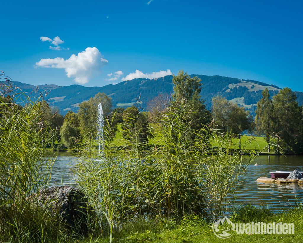 Leogang Saalfelden Sommer Naturbadeanlage Ritzensee