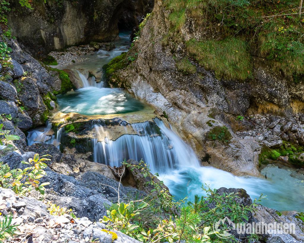 Leogang Saalfelden im Sommer Wanderung Stoissengraben